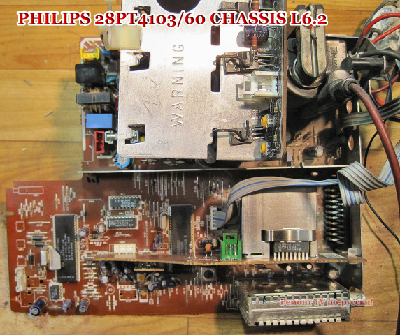 PHILIPS 28PT4103/60 CHASSIS
